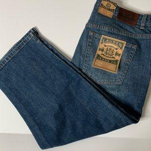 Ralph Lauren Jeans Classic Midcalf crop size 10